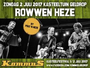 KOMMUS-FESTIVAL AANKONDIGING Rowwenheze#9