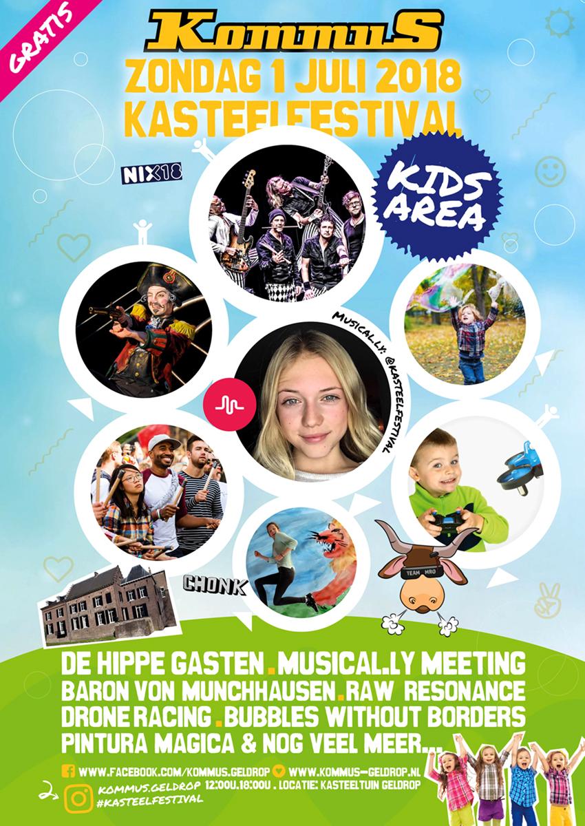 Kids Erea KommuS kasteelfestival geldrop