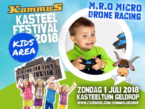 KommuS Kasteelfestival Drone Vliegen Geldrop
